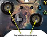 Hubble Images - Carina Nebula Pillar - Decal Style Skin fits Microsoft XBOX One Wireless Controller
